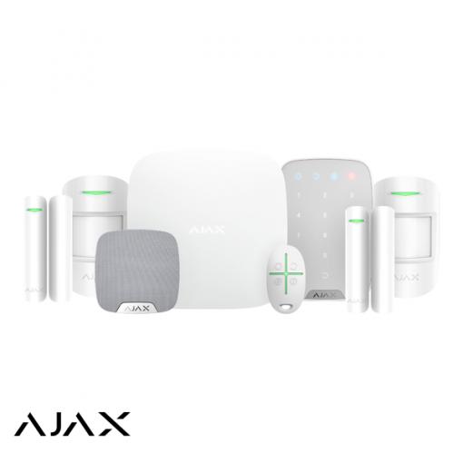 Ajax alarmsysteem HUB KIT luxe wit